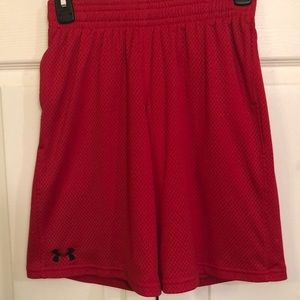 Under Armour Youth Loose Heat Gear Shorts